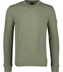 hugo boss sweater walkup 1 olijfgroen