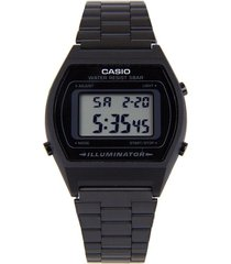reloj casio retro digital b-640wb-1a negro original
