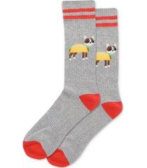 hot sox men's taco terrier socks