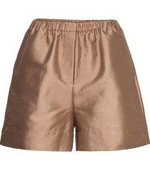 laury shorts 14208 shorts flowy shorts/casual shorts brun samsøe samsøe