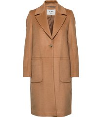 day scaffold trenchcoat lange jas bruin day birger et mikkelsen