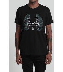 camiseta pulmão preta
