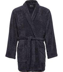 men's woven bathrobe morgonrock badrock blå emporio armani