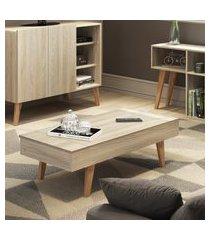 mesa de centro be mobiliário leaves tampo basculante 100cm