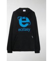 vetements ecstasy oversized hoodie