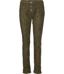 c vegan leather raka jeans grön please jeans