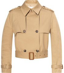 short double-breasted jacket
