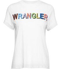 80´s tee t-shirts & tops short-sleeved vit wrangler