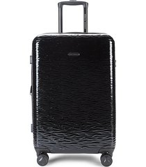 24-inch expandable spinner upright suitcase