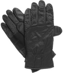 isotoner men's packable gloves