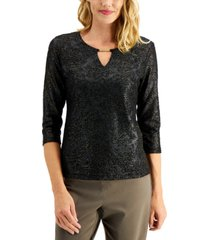 jm collection textured hardware top, created for macy's