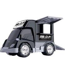 caminhão de brinquedo sb. dp. - 4 peças com acessórios