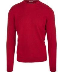 fedeli red arg vintage man pullover