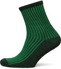 dean summer stripe lingerie socks regular socks grön becksöndergaard