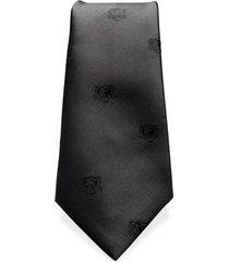 corbata colo-colo logos negros sederías santiago