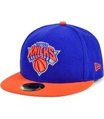 new era new york knicks basic 2-tone 59fifty cap