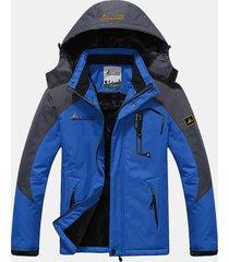 giacca pesante calda a porva di vento impermeabile da outdoor sciare salire