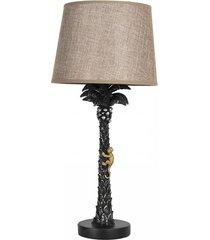 lampa stołowa monkey palm