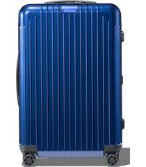 men's rimowa essential lite 27-inch wheeled suitcase -