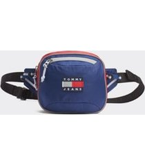 tommy hilfiger women's sport tech fanny pack dark blue -