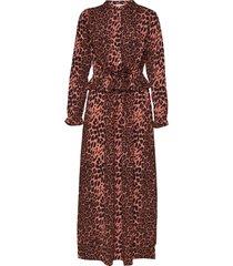 dress maxiklänning festklänning brun sofie schnoor
