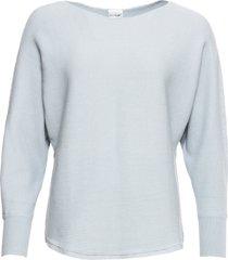 maglione oversize a costine (viola) - bodyflirt