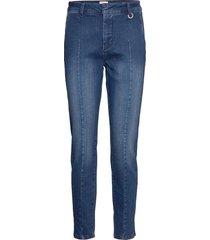 pzclara jeans slimmade jeans blå pulz jeans