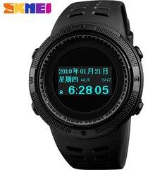 reloj deportivo al aire libre skmei impermeable, compass reloj, reloj de hombre neutral / moda casual pareja multifuncional reloj de pulsera /