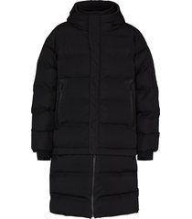 templa 3l mor oversized convertible padded coat - black