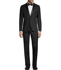 wellar regular-fit notch lapel wool suit