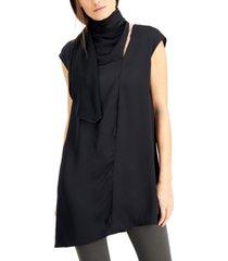 alfani scarf-neck tunic, created for macy's