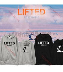 kpop 2ne1 cl first single lifted cap hoodie sweater unisex coat jacket outwear