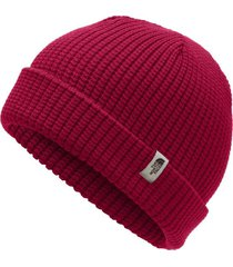 gorro tnf waffle rojo the north face