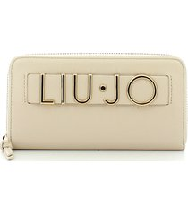 liu jo womens white wallet