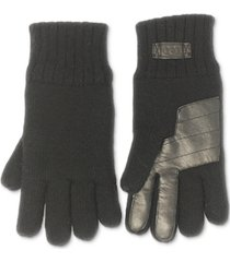 ugg men's knit glove with palm patch