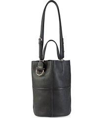 rodo leather bucket bag
