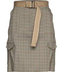stranda skirt kort kjol beige holzweiler