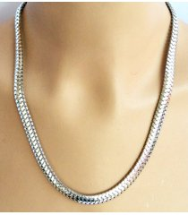 collar wow! 1732 - plateado