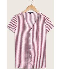 blusa blanco-rojo patprimo