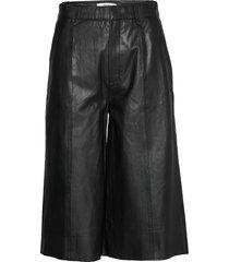 surigz shorts ms20 leather leggings/broek zwart gestuz