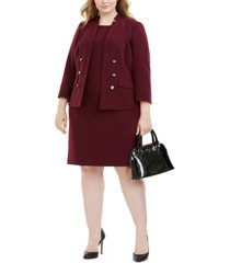 le suit plus size jacket & dress
