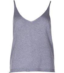 les tricots de lea top dotis zilver