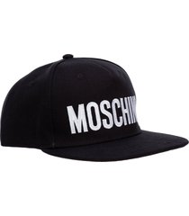 moschino biker baseball cap