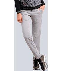 sweatpants alba moda lichtgrijs