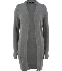 cardigan lungo (grigio) - bpc bonprix collection