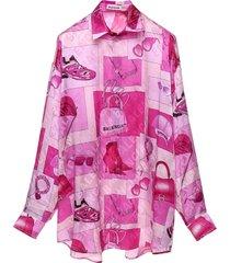 balenciaga balenciaga accessories blouse