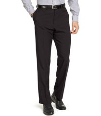 dockers men's classic-fit non-iron solid dress pants, created for macy's