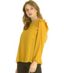 blusa alessia amarillo bous