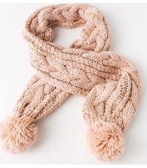 lauren knit scarf - blush