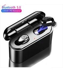 audífonos bluetooth estéreo 5d manos libres con base carga